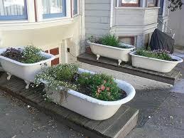 Bathtub Planter Daily Knick Knacks Garden Lust