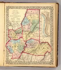 Oregon Counties Map by Preston Taylor Barbour Tucker Counties David Rumsey