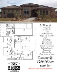 Corner Lot Floor Plans 2500 U2013 3000 Sq Ft U2013 K Welch Homes