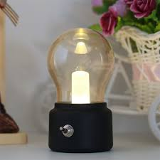 Switch Lighting Led Bulb by Metal Lever Switch Bulb Lamp Rechargeable Battery Night Light Usb