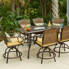 Patio Table Bar Height Furniture Bar Height
