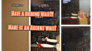 Stone Wall Mural Diy Wallpaper Stone Wall Mural Youtube