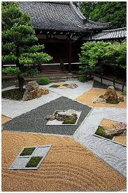 Japanese Rock Garden Plants Geometric Zen Garden Shinyo Do 真如堂 Japan Design Kyoto And