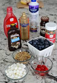 sundae bar toppings ice cream sundae bar toppings simply darr ling