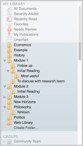how to write citations in a paper 03 organizing documents mendeley select it in the main panel click and drag it onto the folder where it appears in the left panel you can also add multiple papers add the same time