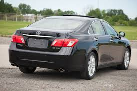 lexus sedan 2007 lexus es 350 for sale carfax certified bluetooth heated