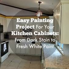 painting your kitchen cabinets black easy painting project for your kitchen cabinets