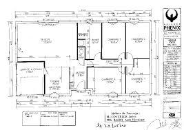 plan de maison 120m2 4 chambres plan maison 120m2 4 chambres plan au sol du plan de maison tage