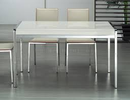 white high gloss table tavolo dining table w high gloss white top by whiteline