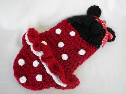 Etsy Newborn Halloween Costumes Cocoon Hooded Minnie Mouse Newborn Halloween Costume