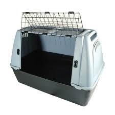porta cani per auto car box 88x51x58 cm trasportino per auto per cani per
