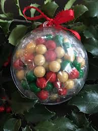 ornaments filled with peanut tree nut and gluten free