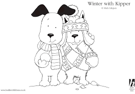 kipper the dog kipper coloring pages samuel pinterest dog