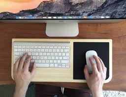 Lap Desk With Mouse Pad Tray Desk With Mouse Pad By Iskelter Gadget Flow