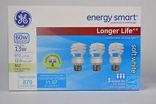 ge energy smart cfl light bulbs 13 watt 60w equivalent ge lighting 13 watt energy smart instant on sunshine cfl light bulb