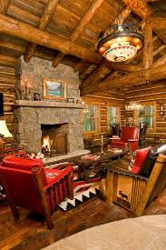 rustic log cabin decor living room rustic with rustic wood small cabin