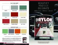 marketing literature exterior performance coatings