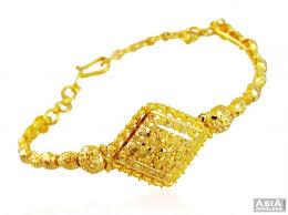 ladies gold bracelet pattern images Designer watch style gold bracelet asbr58871 22k gold ladies jpg