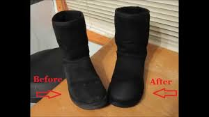 ugg s boots black how to clean ugg boots without cleaner
