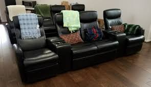 home theater recliner review flash furniture 4 seat black leather home theater recliner