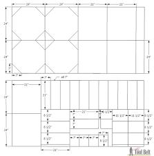 Octagon Floor Plans Octagon Rotating Bookshelf Her Tool Belt