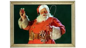 santa claus picture the true history of the modern day santa claus the coca cola company