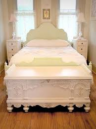 4 Foot Bed Frame Bedroom Chest Foot Bed 4 With Classic White Design Founterior