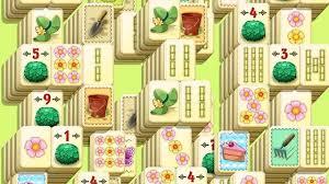 mahjong spring flower garden android gameplay youtube