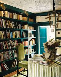Green Bookshelves - vintage finds february 2012