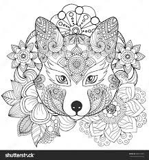 tribal designs coloring pages fresh tribal flower coloring pages