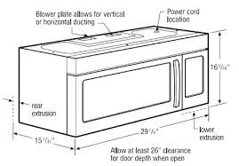 under cabinet microwave dimensions microwave oven standard size microwave dimensions typical image