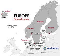 map northern europe scandinavia map northern europe scandinavia major tourist