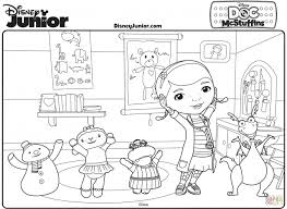 coloring pages doc mcstuffins coloring pages kids collection