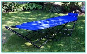 making a hammock stand
