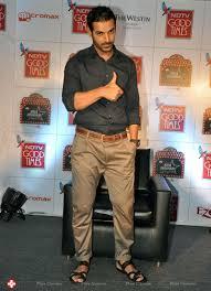 john abraham john abraham launches ndtv good times show stills