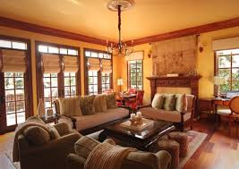 interior adorable cozy home decorating ideas brown varnished along