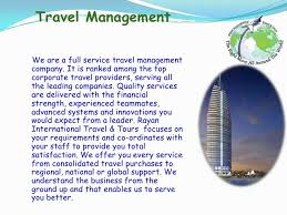 travel company images Profile presentation rayan international travel tours jpg