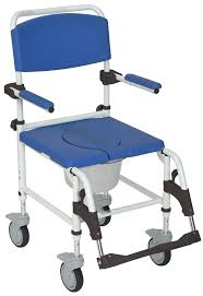 Bathroom Shower Chairs by Aluminum Shower Commode Mobile Chair Drive Medical