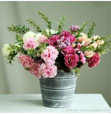 Fake Flowers In Bulk Wholesale Artificial Carnations Buy Cheap Artificial Carnations