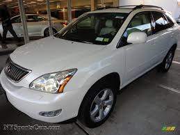 lexus white pearl 2004 lexus rx 330 awd in crystal white pearl 004845