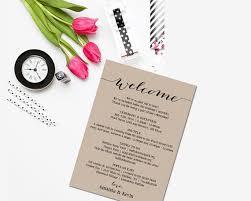 wedding itinerary template wedding itinerary printable itinerary editable itinerary
