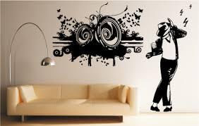 stickers chambre ado sticker mural speakers chambre ado