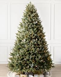 how many lights for a 7ft christmas tree full width fraser fir artificial christmas trees balsam hill
