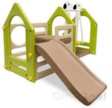 rutsche kinderzimmer wetterfestes spielhaus mit rutsche schaukel für kinderzimmer