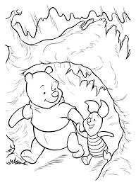 coloring page winnie the pooh coloring pages 4