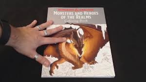 dungeons dragons coloring book review
