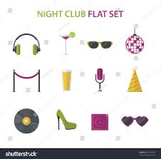 night club cocktail party disco music stock vector 326878109