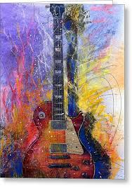 gibson guitar greeting cards america