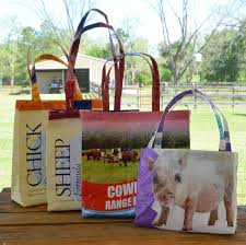 feed bag tote tutorial creative country life sewing