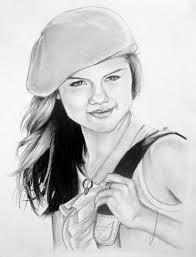 a selena gomez drawing again by unkool567755 on deviantart